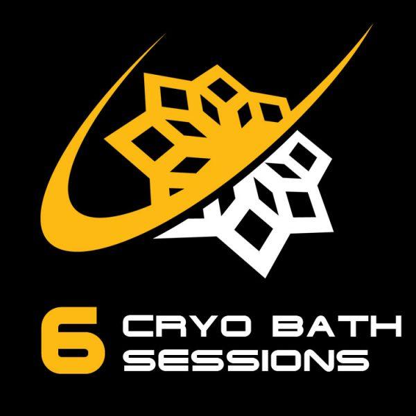 6 Cryo Bath Sessions
